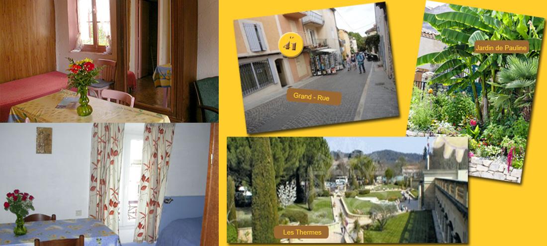 studios gr oux locations meubl es gr oux les bains. Black Bedroom Furniture Sets. Home Design Ideas