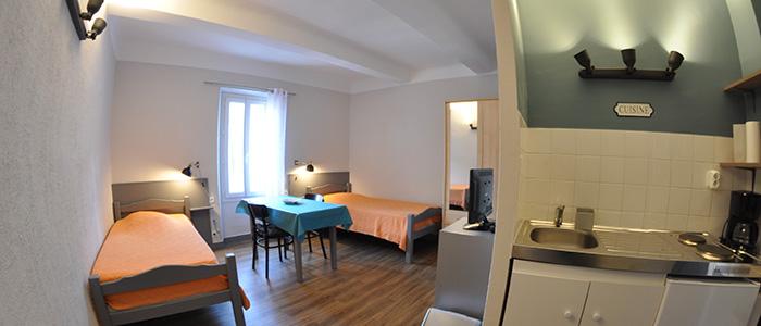 location meublée gréoux les bains studio 22